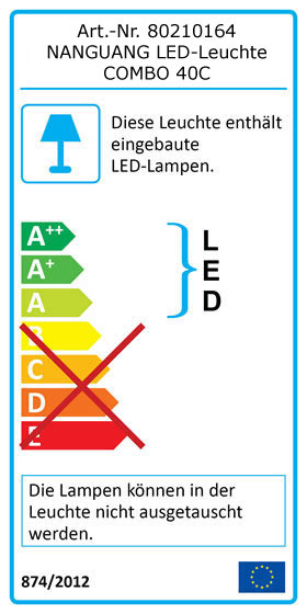 Label NANGUANG LED-Studioleuchte COMBO 40C