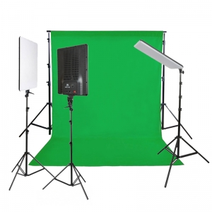 NANGUANG LED Studioset CHROMAKEY 3500