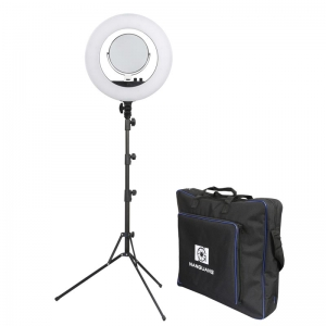 NANGUANG Bi-Color Beauty LED-Ringlicht SET VENUS V48C mit Stativ + Tasche